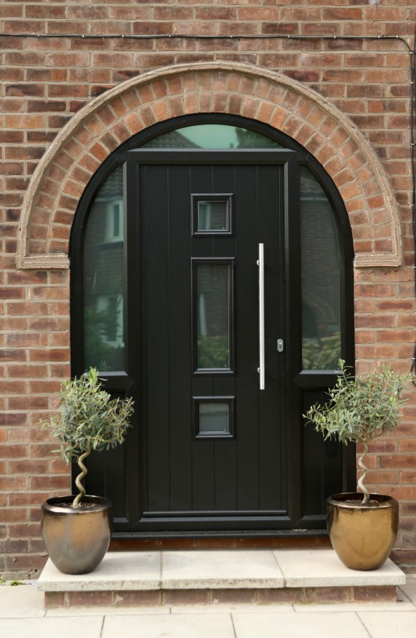 Ludlow Style Composite Door; Genoa Style Composite Door ... & Worsley Glass \u0026 Windows | Composite Doors