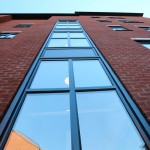 Wilbraham Rd Manchester - Curtain Wall Section