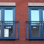 New Build Ral 7016 opening in French Doors