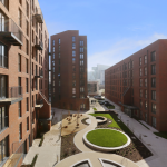 Sillavan Way Courtyard View